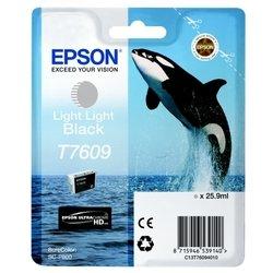 Картридж для Epson SureColor SC-P600 (C13T76094010) (светло-серый) - Картридж для принтера, МФУКартриджи<br>Картридж совместим с Epson SureColor SC-P600.