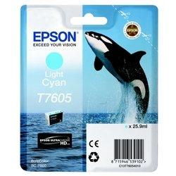 Картридж для Epson SureColor SC-P600 (C13T76054010) (светло-голубой) - Картридж для принтера, МФУ