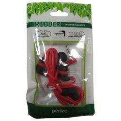 Perfeo RUBBER (PF-RUB-RED/BLK) (красно-черный) - НаушникиНаушники и Bluetooth-гарнитуры<br>Вставные наушники (quot;затычкиquot;), импеданс 16 Ом, чувствительность 100 дБ, диаметр мембраны 10 мм, разъём mini jack 3.5 mm, длина провода 1.2 м, сменные амбушюры.