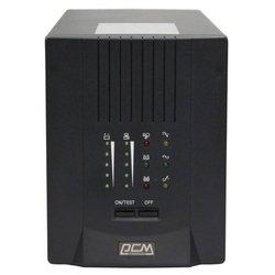 Powercom Smart King Pro+ SPT-1000 - Источник бесперебойного питания, ИБПИсточники бесперебойного питания<br>Powercom Smart King Pro+ SPT-1000 - интерактивный, 1000 ВА 700 Вт, разъемов:  8, USB, RS-232