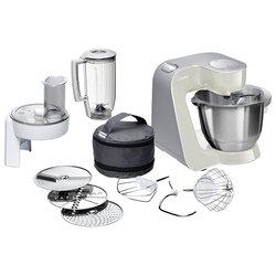 Bosch MUM 58L20 - Кухонный комбайн, измельчительКухонные комбайны и измельчители<br>Bosch MUM 58L20 - комбайн, 1000 Вт, чаша 3.9 л, блендер