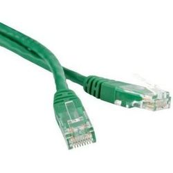 Патч-корд U/UTP Cat.6 1 м (Hyperline PC-LPM-UTP-RJ45-RJ45-C6-1M-LSZH-GN) (зеленый)