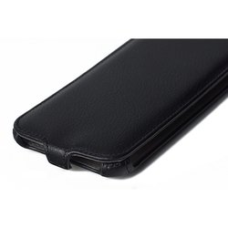 Чехол-флип для Samsung Galaxy J7 (iBox Premium YT000007973) (черный) - Чехол для телефонаЧехлы для мобильных телефонов<br>Чехол плотно облегает корпус и гарантирует надежную защиту от царапин и потертостей.