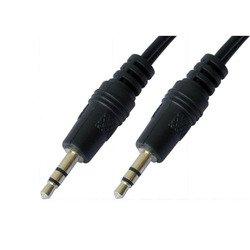 Кабель 3.5 Jack/M - 3.5 Jack/M (5bites AC35J-015M) (черный) - Кабель, разъем для акустической системыКабели и разъемы для акустических систем<br>Разъемы 3.5 Jack/M - 3.5 Jack/M, стерео, длина 1.5 м.