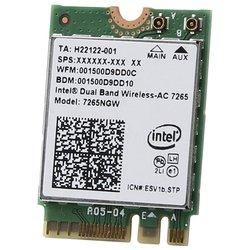 Intel 7265NGW.AC - Wifi, Bluetooth адаптерОборудование Wi-Fi и Bluetooth<br>Intel 7265NGW.AC - Bluetooth+Wi-Fi адаптер, M.2, 802.11a/b/g/n/ac, BT 4.0