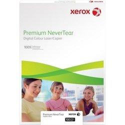Синтетическая бумага A4 (100 листов) (Xerox 003R98056)  - БумагаОбычная, фотобумага, термобумага для принтеров<br>Синтетическая бумага для цветной лазерной печати – водостойкая, устойчивая к маслу и грязи, сопротивляется разрыву.