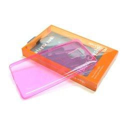 Силиконовый чехол-накладка для Huawei Honor 7 (iBox Crystal YT000007890) (розовый) - Чехол для телефонаЧехлы для мобильных телефонов<br>Чехол плотно облегает корпус и гарантирует надежную защиту от царапин и потертостей.