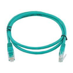 Патч-корд RJ-45 кат.5e UTP 0.3 м литой (Greenconnect GCR-LNC05-0.3m) (зеленый)