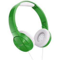 Pioneer SE-MJ503 (зеленый) - НаушникиНаушники и Bluetooth-гарнитуры<br>Накладные наушники закрытого типа, импеданс 32 Ом, чувствительность 100 дБ, диаметр мембраны 30 мм, разъём mini jack 3.5 mm, вес 126 г.