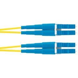 Патч-корд LC-LC, 9/125, OS1/OS2 дуплекс, 1 м (Panduit F92ELLNLNSNM001) - КабельСетевые аксессуары<br>Патч-корд состоит из отрезка оптического кабеля с оптическими разъемами (коннекторами) на каждом конце.