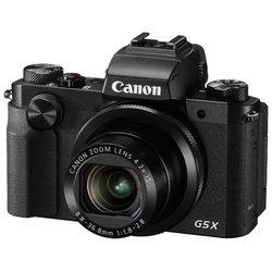 Canon PowerShot G5 X - Фотоаппарат цифровойЦифровые фотоаппараты<br>Canon PowerShot G5 X - 20.90 МП, 1amp;quot;, Zoom: 4.20х, RAW, Wi-Fi, до 5.90 к/с, видео до 1920x1080