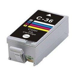 Картридж для Canon Pixma iP 100, MiNi 260 (Cactus CS-CLI36) (трехцветный) - Картридж для принтера, МФУ