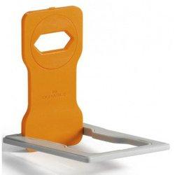 Держатель для зарядки телефонов горизонтальный (Durable 7735-09) (оранжевый) - АксессуарРазное<br>Держатель для зарядки телефонов Durable 7735-09 предназначен для удобного расположения Вашего мобильного телефона во время его зарядки от розетки, расположенной на стене. Приспособление позволяет избежать случайного задевания проводов или телефона, когда тот подключен к сети.
