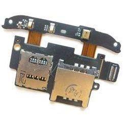 Шлейф для HTC Desire HD с разъемом сим-карты (16269) - Шлейф для мобильного телефонаШлейфы для мобильных телефонов<br>Шлейф в мобильном телефоне – маленькая, но неотъемлемая часть конструкции, представляющая собой систему контактных проводов, которая соединяет различные детали телефона.
