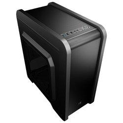 AeroCool Qs-240 Black - КорпусКорпуса<br>AeroCool Qs-240 Black - mATX, Mini-ITX, Mini-Tower, сталь, без БП, 3xUSB спереди, 209x419x372 мм, 3 кг