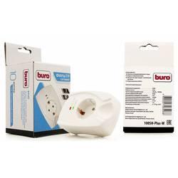 Сетевой фильтр Buro 100SH-Plus-W (1 розетка) (белый) - Сетевой фильтрУдлинители и сетевые фильтры<br>Cетевой фильтр, позволяет подключить 1 устройство. Входная вилка стандарта Euro.