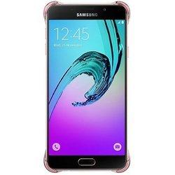 Чехол-накладка для Samsung Galaxy A7 (2016) A710 (Clear Cover EF-QA710CZEGRU) (розовый) - Чехол для телефонаЧехлы для мобильных телефонов<br>Чехол-накладка плотно облегает корпус и гарантирует надежную защиту от царапин и потертостей.
