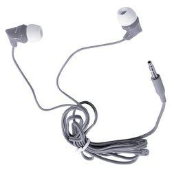 Smartbuy JUNIOR (SBE-500) (серый) - НаушникиНаушники и Bluetooth-гарнитуры<br>Внутриканальные проводные наушники, динамики 9 мм, частотный диапазон наушников: 20 Гц - 20 кГц, разъем minijack 3.5 мм, сопротивление наушников 32 Ом, чувствительность наушников 102 дБ, длина кабеля 1.2 м.