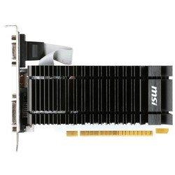 MSI nVidia GeForce GT 730 PCI-E 2048Mb 64bit GDDR3 902/1600 DVIx1/HDMIx1/CRTx1/HDCP (N730K-2GD3H/LP) (RTL) - ВидеокартаВидеокарты<br>Видеокарта, nVidia GeForce GT 730; частота процессора: 902 МГц; частота памяти: 1600МГц; объём видеопамяти: 2Гб; тип видеопамяти: GDDR3; DirectX 11/OpenGL 4.4; доп. питание: без дополнительного питания; блок питания не менее: 300Вт; тип поставки: Ret