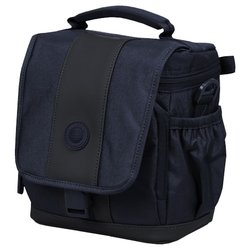 Continent FF-02 (синий) - Чехол, сумка для фотоаппаратаСумки, чехлы для фото- и видеотехники<br>Continent FF-02 - сумка для фотокамеры, материал: текстиль, <br>ВхТхД: <br>23х14х19.50 см