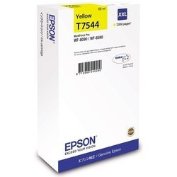 Картридж для Epson WorkForce Pro WF-8090, WF-8590 (C13T754440 №T7544) (желтый) - Картридж для принтера, МФУКартриджи<br>Картридж совместим с моделями: Epson WorkForce Pro WF-8090, WF-8590.