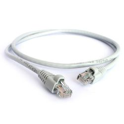 Патч-корд RJ-45 кат.5e UTP CCA 0.5 м (Greenconnect OEM-LNC03-0.5m) (серо-белый)