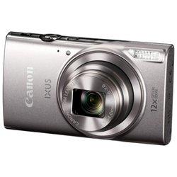 Canon IXUS 285 HS (1079C001) (серебристый) - Фотоаппарат цифровойЦифровые фотоаппараты<br>Компактная фотокамера, матрица 21.1 МП (1/2.3quot;), съемка видео Full HD, оптический зум 12x, экран 3quot;, Wi-Fi, вес с элементами питания 147 г, режим макросъемки.