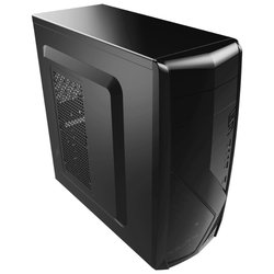 AeroCool CS-1102 Black - КорпусКорпуса<br>AeroCool CS-1102 Black - ATX, mATX, Mini-ITX, Midi-Tower, без БП, 3xUSB спереди, 195x410x423 мм, 2.7 кг