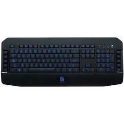 Tt eSPORTS Challenger GO USB (KB-VEL-MBBLRU-01) (черный) - АксессуарКлавиатуры, мыши, комплекты<br>Проводная классическая клавиатура, подключение USB, 114 клавиш, подсветка.
