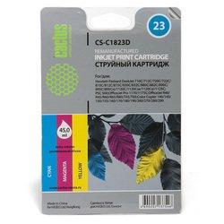 Картридж для HP DeskJet 712c, 720c, 722c, 810, 812c, 815c, 830C, 832C (Cactus CS-C1823D) (цветной) - Картридж для принтера, МФУ