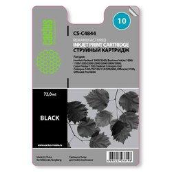 Картридж для HP BIJ 1000, 1100, 1200, 2200, 2300, 2600, 2800 (Cactus CS-C4844) (черный) - Картридж для принтера, МФУ