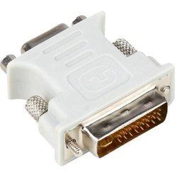 Переходник DVI-I-VGA (15F) (Aopen ACA301) - Кабель, переходникКабели, шлейфы<br>Разъемы: DVI-I-VGA (15F). Используется для подключения устройств с соответствующими разъемами.