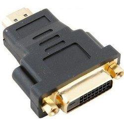 Переходник DVI-D 25F - HDMI 19M (VCOM VAD7819) (черный) - HDMI кабель, переходникHDMI кабели и переходники<br>Разъемы: DVI-D 25F - HDMI 19M, позолоченные контакты.