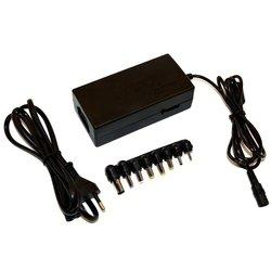 KS-is Tirzo KS-271 (черный) - Сетевая, автомобильная зарядка для ноутбукаСетевые и автомобильные зарядки для ноутбуков<br>Универсальный блок питания для ноутбуков, мощность 90Вт, в комплекте поставки 8 переходников.