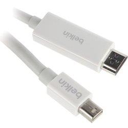 Кабель Display Port Belkin DisplayPort mini (m), HDMI 4м - Кабель, переходникКабели, шлейфы<br>Функциональный тип Кабель, Тип Display Port, Разъем1 DisplayPort mini (m), Разъем2 HDMI, Длина 4, Срок гарантии (в месяцах) 12, Вес (кг) 0.283