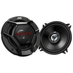JVC CS-DR520 - АвтоакустикаАвтоакустика<br>Двухполосная коаксиальная АС,<br>типоразмер: 13 см (5 дюйм.),<br>номинальная мощность 40 Вт,<br>максимальная мощность 260 Вт,<br>чувствительность 85 дБ,<br>импеданс 4 Ом,<br>диапазон частот 85 - 25000 Гц.