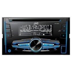 JVC KW-R520 - АвтомагнитолаАвтомагнитолы<br>JVC KW-R520 - 4x50Вт, 2 DIN, тюнер, CD, USB, iPod
