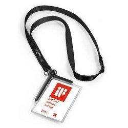 Держатель для пропуска Durable 8207-58 CARD HOLDER DELUXE 54х85мм серый (упак.:10шт) - Бейдж, аксесcуарБейджи и аксесcуары к ним<br>Вес (кг) 0.353, Объем (м3) 0.0025