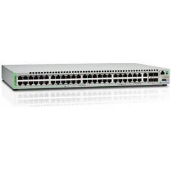 Allied Telesis AT-GS948MX-50 - МаршрутизаторМаршрутизаторы и коммутаторы<br>Возможность установки в стойку, 2 слота для дополнительных интерфейсов, 48 портов Ethernet 10/100/1000 Мбит/сек, 2 скорость до 10 Гбит/сек, 512 Мб оперативной памяти, наличие USB-порта.