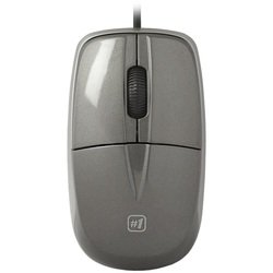 Defender MS-940 USB (52942) (серый) - Мышь, клавиатура для компьютера и планшетаКлавиатуры, мыши, комплекты<br>Проводная оптическая мышь, интерфейс USB, 2 кнопки + колесо прокрутки, разрешение 1200dpi, длина кабеля 1.1 м.