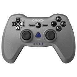 Canyon CNS-GPW6 - Руль, джойстик, геймпадРули, джойстики, геймпады<br>Canyon CNS-GPW6 - геймпад, беспроводной, вибрация, ПК, PS3, PS2