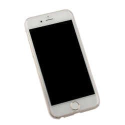 Защитная крышка для Apple iPhone 6, 6S (0L-00027061) (прозрачный) + стекло - Чехол для телефонаЧехлы для мобильных телефонов<br>Плотно облегает корпус и гарантирует надежную защиту от царапин и потертостей.