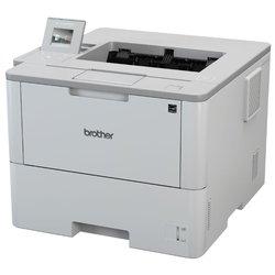 Brother HL-L6400DW - Принтер, МФУПринтеры и МФУ<br>Brother HL-L6400DW - принтер, A4, печать  лазерная ч/б, двусторонняя, 50 стр/мин ч/б, Post Script, 512 Мб, Ethernet RJ-45, USB, Wi-Fi, цветной ЖК-дисплей
