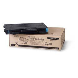 Картридж для Xerox Phaser 6100 (106R00680) (голубой) - Картридж для принтера, МФУКартриджи<br>Картридж совместим с Xerox Phaser 6100.