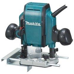 Makita RP0900K - ФрезерФрезеры<br>Вертикальный фрезер, 900 Вт, макс. скорость 2700 об/мин, макс. глубина фрезерования 35 мм, кейс, 2.7 кг