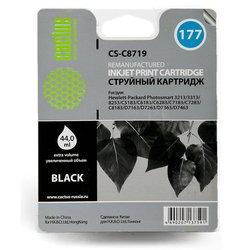 Картридж для HP PhotoSmart 3100, 3108, 3110, 3207, 3210, 3210A, 3210V, 3210XI, 3213, 3214, 3308, 3310, 3310A, 3310V, 3310XI (Cactus CS-C8719) (черный) - Картридж для принтера, МФУ