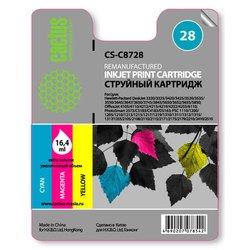 Картридж для HP Cactus CS-C8728 (трехцветный) - Картридж для принтера, МФУ