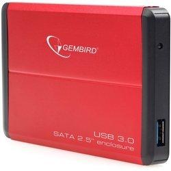 """Внешний корпус для 2.5"""" HDD (Gembird EE2-U3S-2-R) (красный) - Корпус, док-станция для жесткого диска Горный интернет магазин компьютерных аксессуаров"""