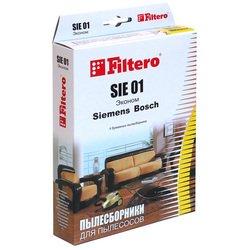 Пылесборники Filtero SIE 01 (4) Эконом - АксессуарАксессуары для пылесосов<br>Пылесборники Filtero SIE 01 (4) Эконом - бумажные для Bosch, Siemens.