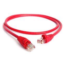 Патч-корд 2хRJ-45 кат.5e 0.5 м (Greenconnect GCR-LNC04-0.5m) (красный) - КабельСетевые аксессуары<br>Разъемы: 2хRJ5, категория 5е, длина 0.5 м.